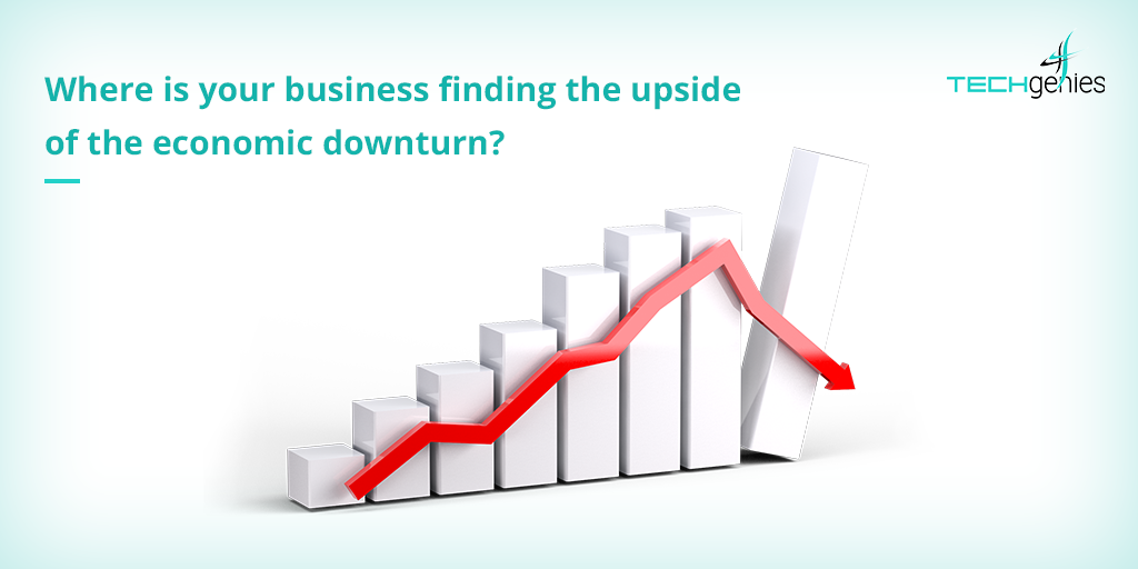Is there an upside in an economic downturn? Warren Buffet says there is.