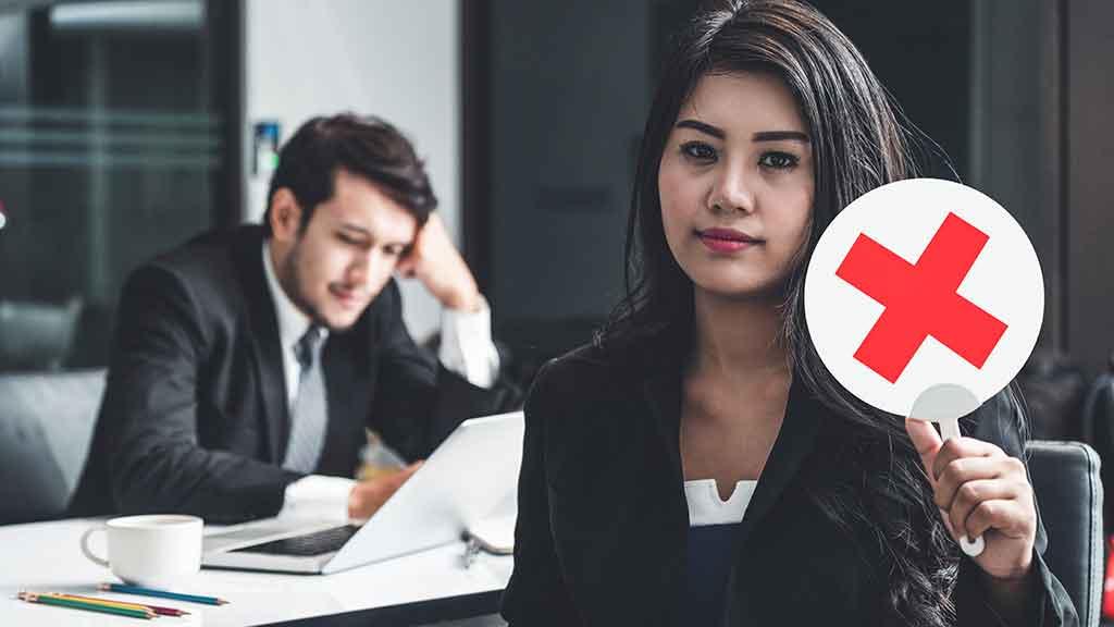 No logro quedarme en ninguna empresa ¡¿Qué estoy haciendo mal?!